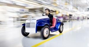 Розкішний Rolls-Royce для дітей
