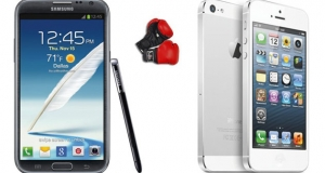 iPhone 5 vs Galaxy Note II: Apple и Samsung продолжают страдать в суде