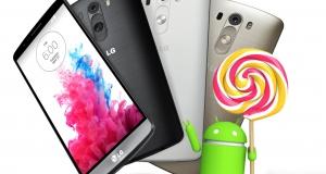 Первые смартфоны LG на Android 5.0 Lollipop