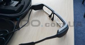 В Украине официально представлены бинокулярные очки дополненной реальности Epson Moverio BT200