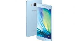 Samsung представила ультратонкие смартфоны Galaxy A5 и A3