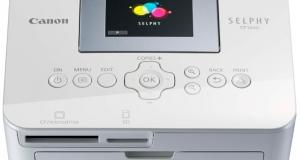 Новый фотопринтер SELPHY CP1000