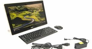 Огляд моноблока Acer Aspire Z3-700: сучасний сенсорний All-In-One