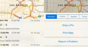 Apple готовит транзитную навигацию для iOS 9 и использует роботов для отображения планов зданий