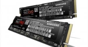 Новые емкие SSD-накопители 960 PRO и EVO
