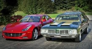 Битва поколений: мощность Ferrari FF сравнили с Oldsmobile Vista Cruiser
