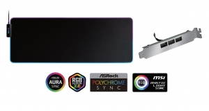 Килимок для миші CHIEFTEC Chieftronic Halo A-RGB MP-800-ARGB