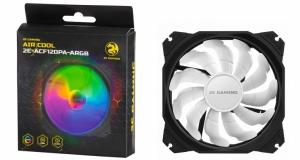 Універсальний асортимент корпусних вентиляторів 2E GAMING AIR COOL із ARGB-підсвіченням