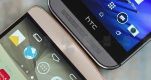 LG G3 vs HTC One M8: интерфейс и функциональность