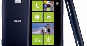 Недорогой Windows Phone от Acer