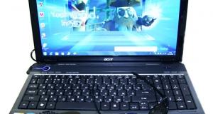 Обзор Acer Aspire 5740DG