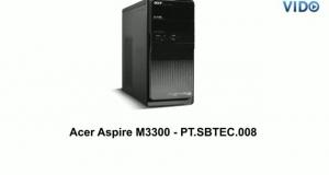 Acer Aspire M3300 - PT.SBTEC.008