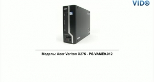 Acer Aspire X275 (PS.VAME9.012)