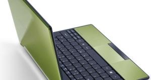 Acer Aspire One 522: первый ноутбук с Fusion.