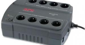 Новые высокоэффективные модели  ИБП APC Back-UPS ES 550 и 700 ВА сокращают энергопотребление
