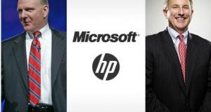 HP и Microsoft объединились, чтоб повысить эффективность бизнеса