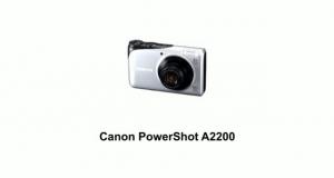 Цифр. фотокамера Canon Powershot A2200