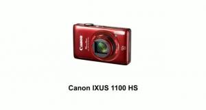 Цифр. фотокамера Canon IXUS 1100 HS