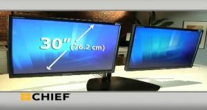 KTP220 - подставка под два дисплея (конфигурации из нескольких дисплеев)