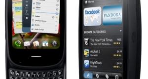 Cмартфоны HP на базе WebOS