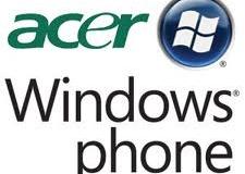 Acer выпустит WP7-смартфоны