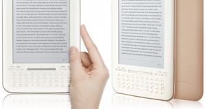 Новая электронная книжка iriver на CES 2011