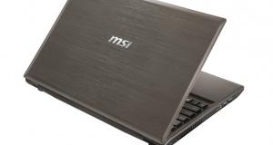Новые ноутбуки MSI GE620 и GR620