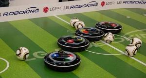 LG Roboking - человек и пароход, ой нет, пылесос и футболист.