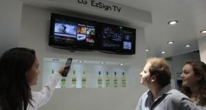 Компания LG Electronics представляет ТВ-вывеску LG EzSign TV