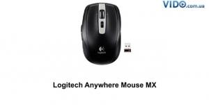 Logitech Anywhere MX WL Laser Black