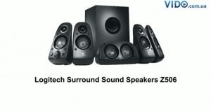 Logitech  Surround Sound Speakers 5.1  Z506