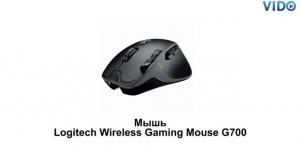 Мышь Logitech Wireless Gaming Mouse G700 (910-001761)