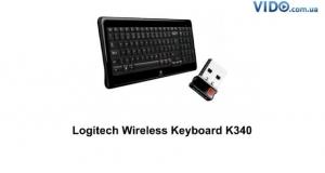 Logitech Wireless Keyboard K340