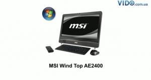 MSI Wind Top AE2400