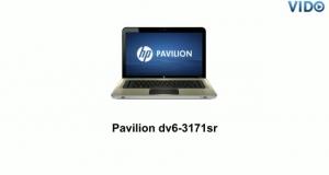 HP Pavilion dv6-3171SR (XD549EA)