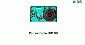 Цифровая фотокамера Pentax Optio RS1000 + чехол + карта памяти 4 ГБ