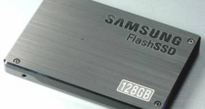 SSD-диски по 100, 200 и 400 Гб от Samsung.