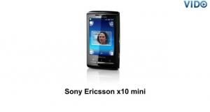 Смартфон Sony Ericsson E10i X10 mini (1239-0569)