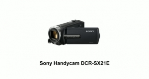 Цифр. видеокамера Flash Sony Handycam DCR-SX21