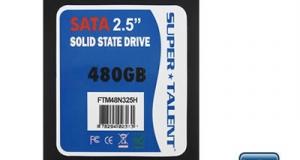 Новый SSD от Super Talent, TeraNova со скоростью 540 МБ/сек.