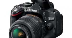 Новая зеркальная камера Nikon D5100