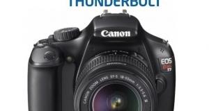 Canon поддержит Thunderbolt