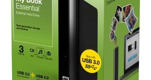 Новые накопители с интерфейсом USB 3.0 от WD.