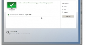 Windows Defender Offline beta.