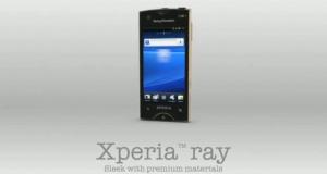 Проморолик Sony Ericsson ST18i Ray