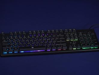 Огляд ігрової клавіатури Genius Scorpion K10 – як механічна, але мембранна