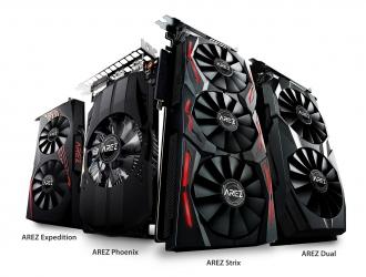 ASUS представила нову лінійку відеокарт AREZ
