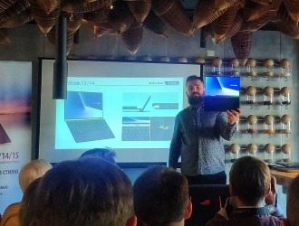 Презентація нових ноутбуків серії ZenBook від ASUS