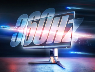 ASUS Republic of Gamers (ROG) представляє монітор ROG Swift 360Hz із частотою оновлення 360 Гц
