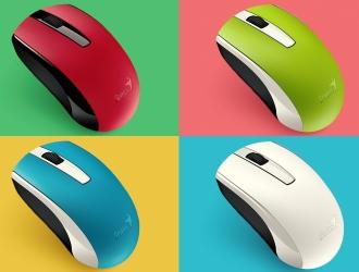 Миші Genius ECO-8100 – багатофункціональність у яскравій формі!